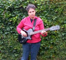 Nancy-electrische-gitaar