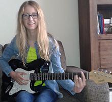 Rebekka Electrisch gitaarles